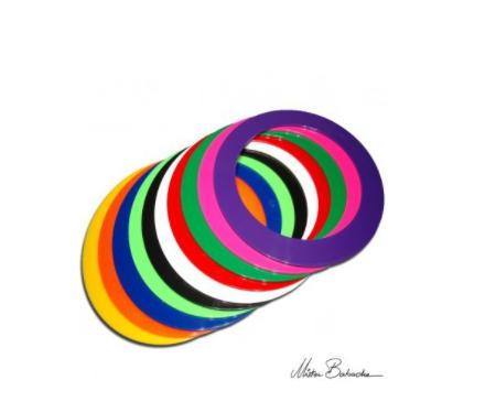 Кольцо для жонглирования 24 см