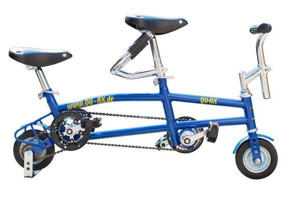 Мини велосипед-тандем Qu-Ax mini-tandembike