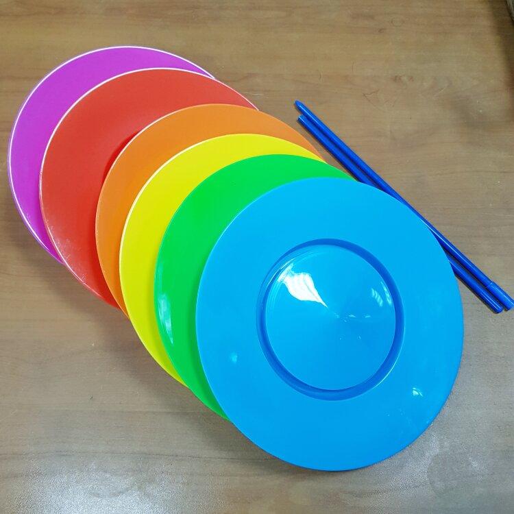 Тарелка для вращения (с палочкой)